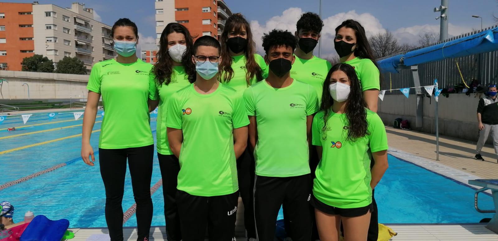 Equipo del Tenis Elche en Sabadell
