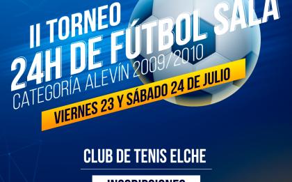 Segundo torneo de fútbol en el Club