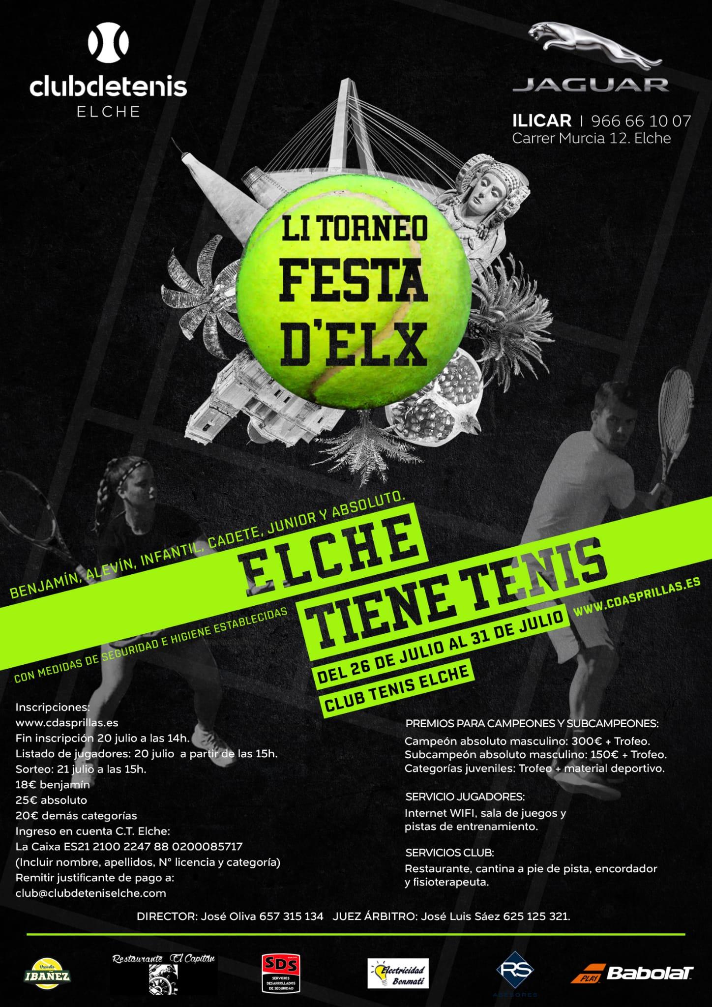 LI TORNEO TENIS FESTA D'ELX
